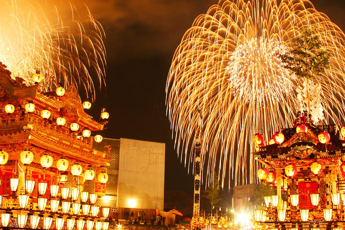 日本三大曳山祭のひとつ秩父夜祭